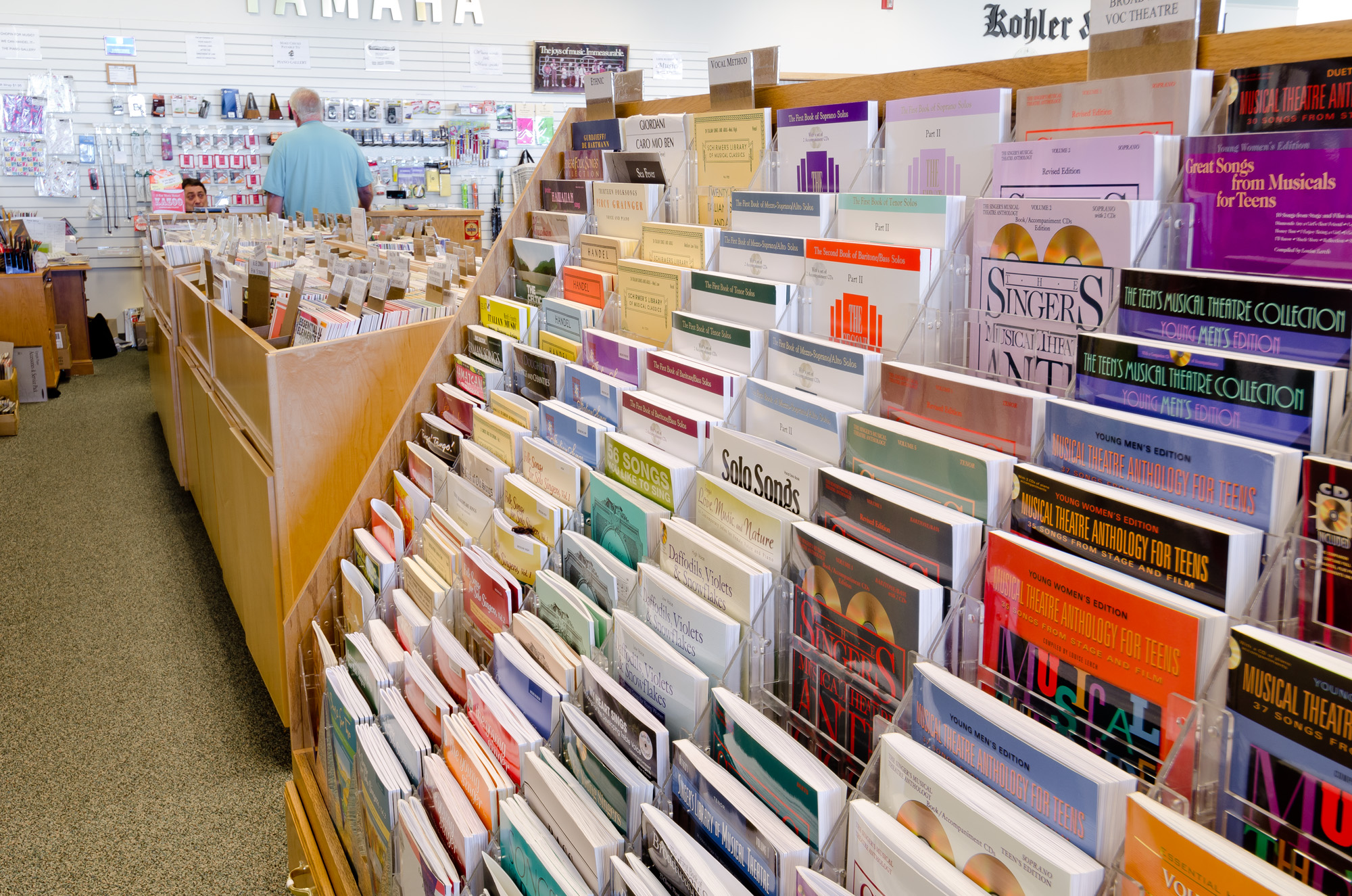 Northern Utah's Largest Selection of Sheet Music