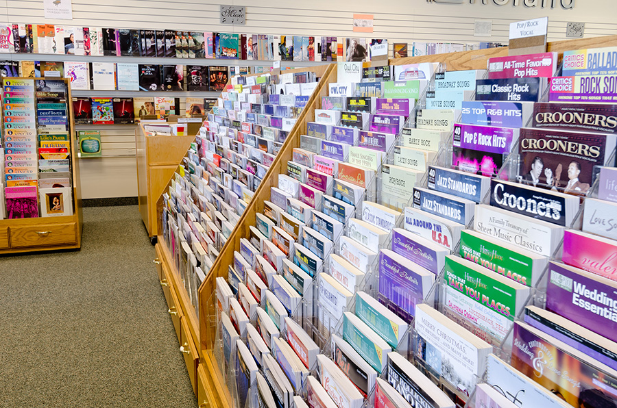 Largest Selection of Sheet Music in Northern Utah