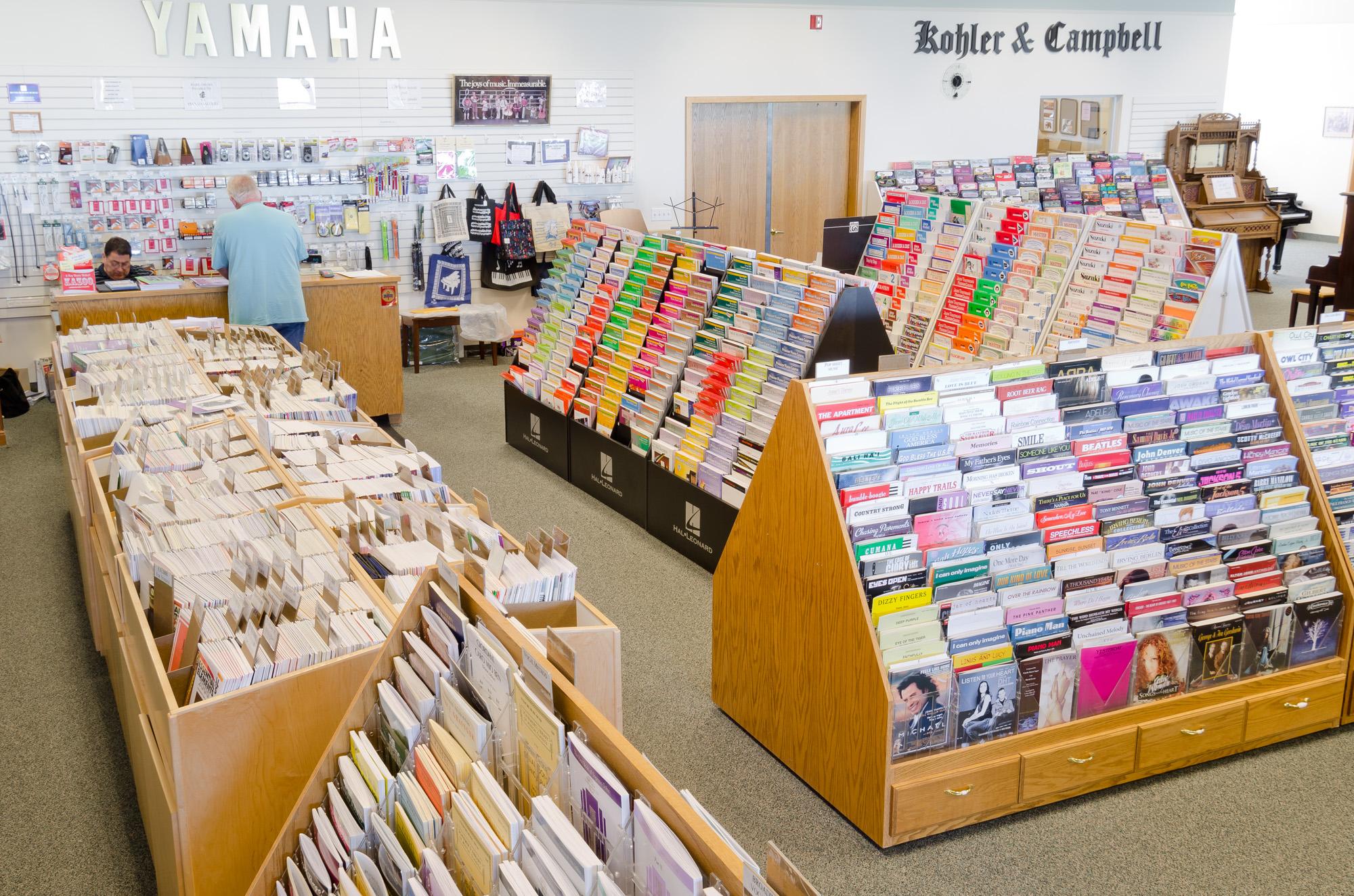 Largest Sheet Music Selection in Ogden Utah