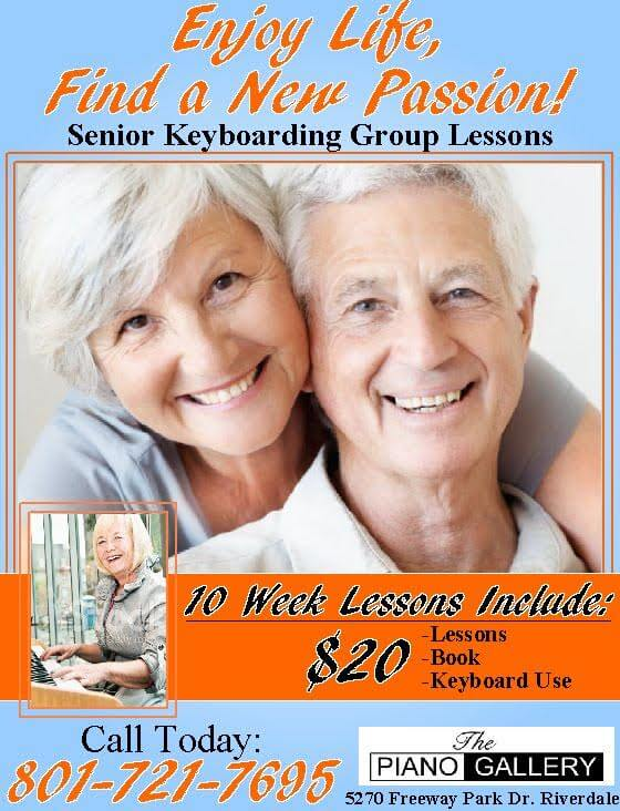 Senior Keyboard Classes Ogden Utah