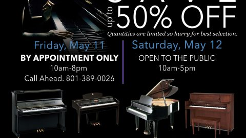 Weber State University Piano Sale