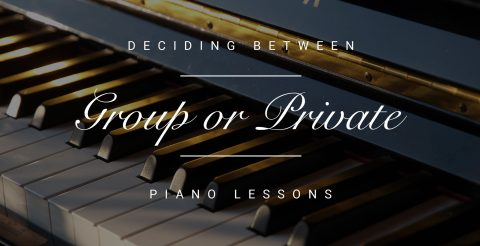How to Decide Between Group or Private Piano Lessons