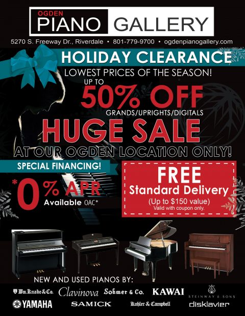 2018 Holiday Clearance Sale