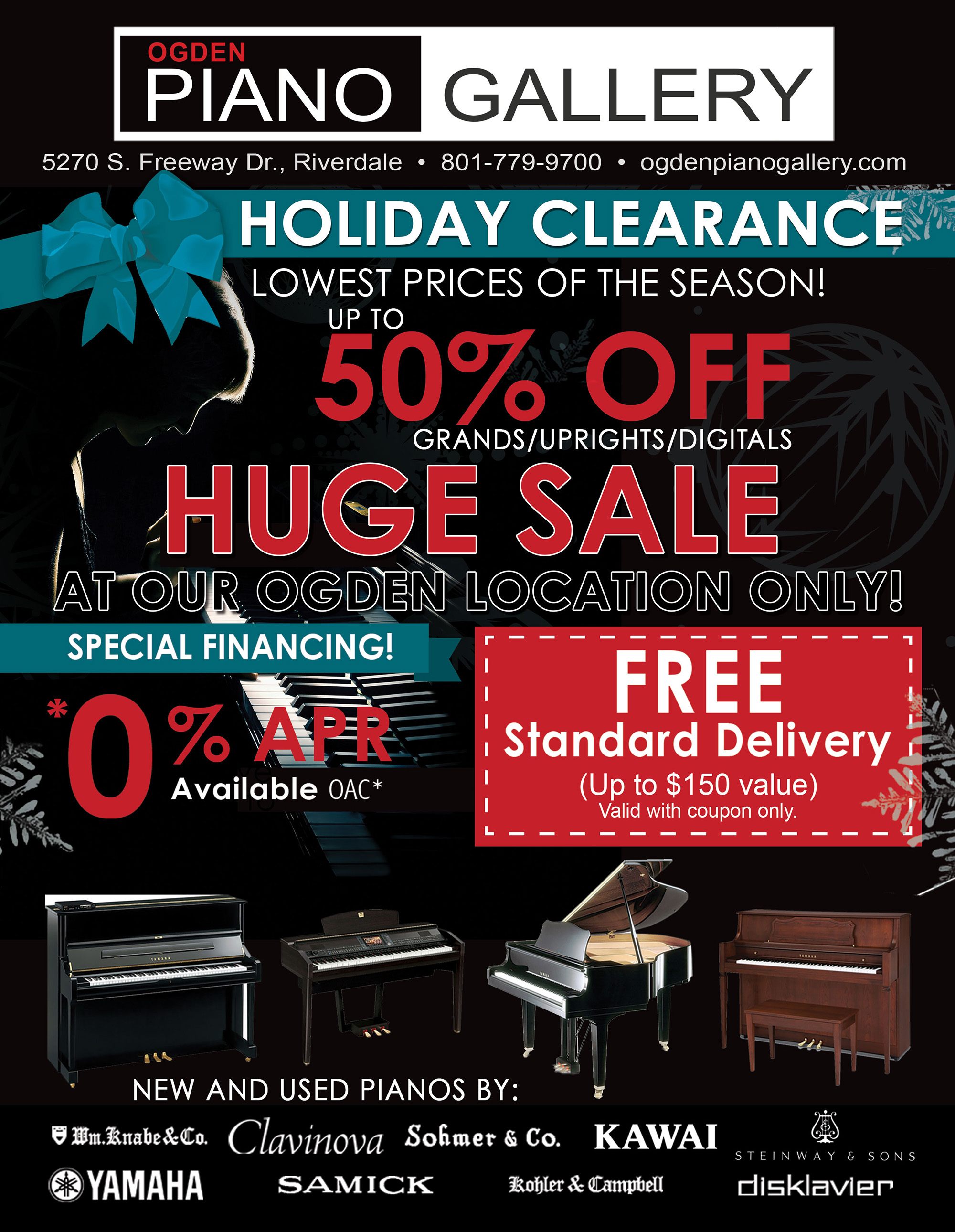 Holiday Clearance Sale Ad 2018