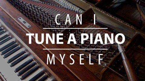 Can I tune a piano myself?