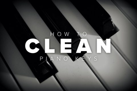 How To Clean Piano Keys