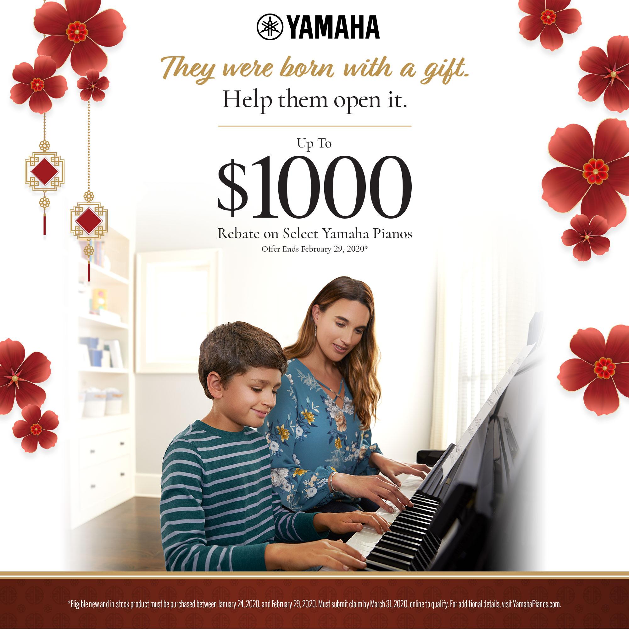 Yamaha Born With A Gift